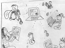 Sharing Creative Works Storyboard