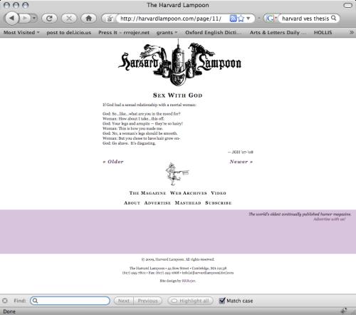 lampoon screenshot